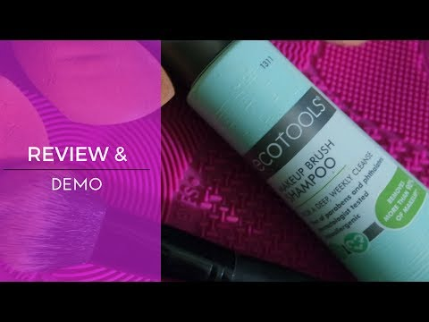 EcoTools Brush Cleansing Shampoo | Review & Demo | #KaysWays