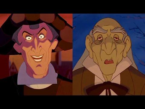 Disney Doppelgangers: Frollo & Monsieur D'Arque