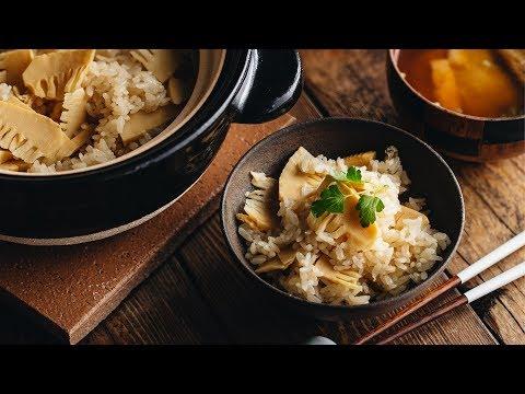 how-to-make-bamboo-rice-(recipe)-たけのこご飯の作り方-(レシピ)