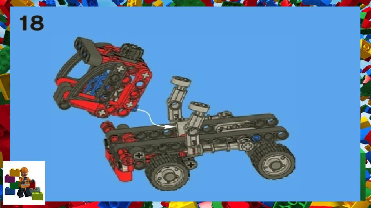 Lego Instructions Technic 8065 Mini Container Truck Book 2