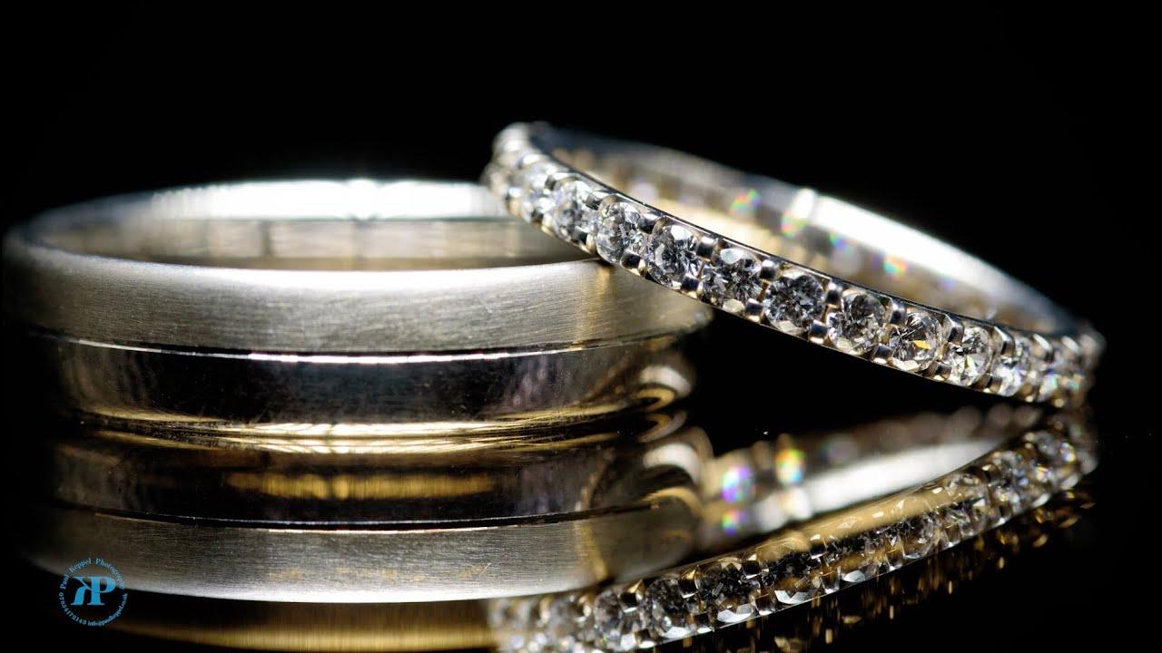 Keppelling wedding ring method wedding ring photography tutorial