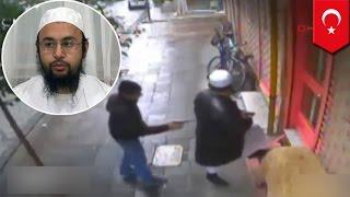 Камеры наблюдения засняли убийство узбекского имама в Стамбуле(Узбекский имам Абдуллох Бухорий был убит средь бела дня в Турции. Камеры наблюдения засняли момент убийств..., 2014-12-27T09:41:48.000Z)