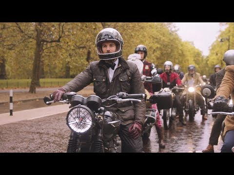 The 2019 London Distinguished Gentleman's Ride