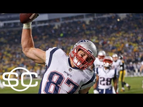 Rob Gronkowski the difference in Patriots' win over Steelers | SportsCenter | ESPN