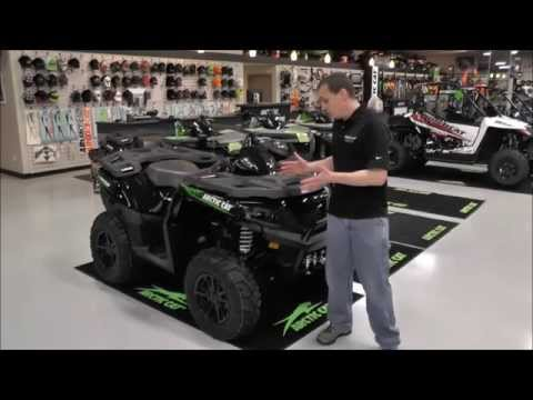 2015 Arctic Cat ATV XR 700 EFI Limited EPS Black & Green