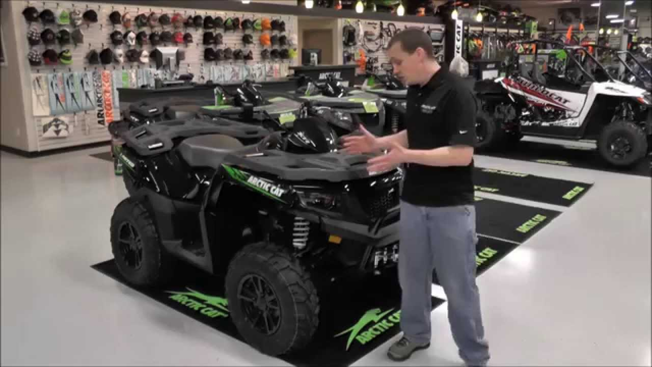 2015 Arctic Cat ATV XR 700 EFI Limited EPS Black & Green