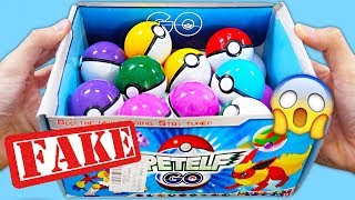APRO 24 POKE BALL GO SURPRISE FAKE MADE IN CHINA!😱