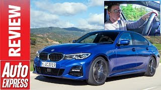 BMW 3 Series 2019 review - onboard BMW's all-new exec express