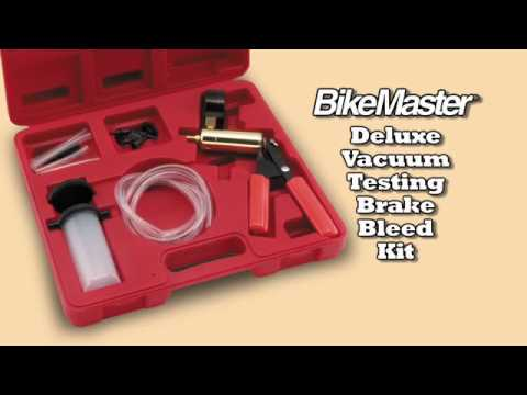 Bikemaster Deluxe Vacuum Testing Brake Bleed Kit Buildyourdream