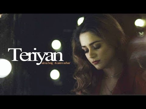 Teriyaan - Asim Azhar & Aima Baig - Lyrics Video