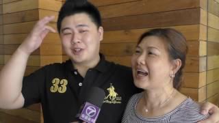 中国新声音海外甄选 母子档临时起意携手参赛