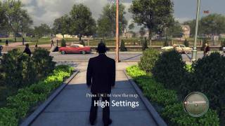 Mafia II: High vs Low settings