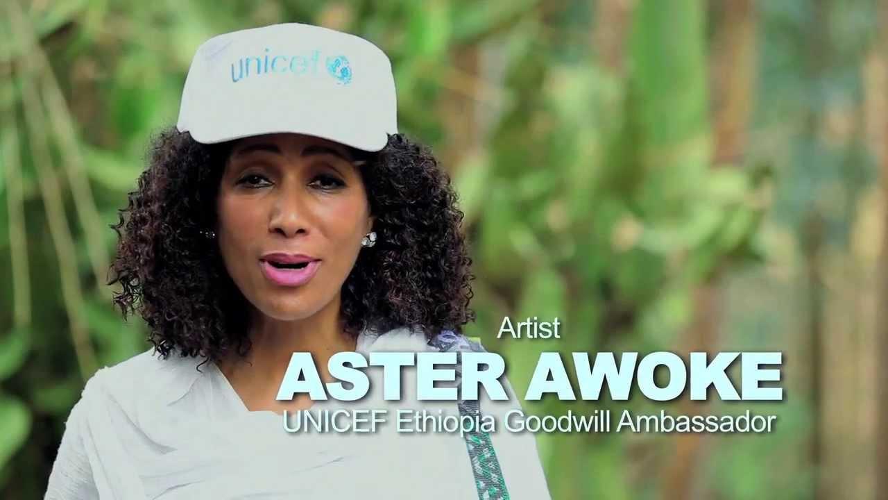 UNICEF Ethiopia - About UNICEF - Aster Aweke
