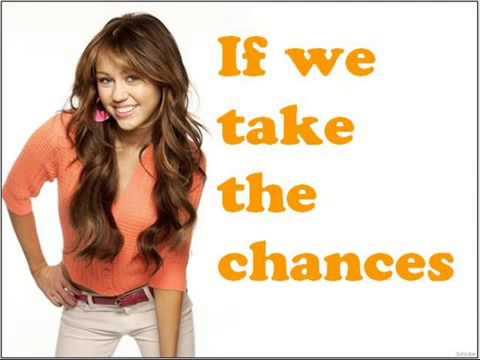 Miley Cyrus, Demi Lovato, Selena Gomez, Jonas Brothers - Send It On Lyrics On The Screen