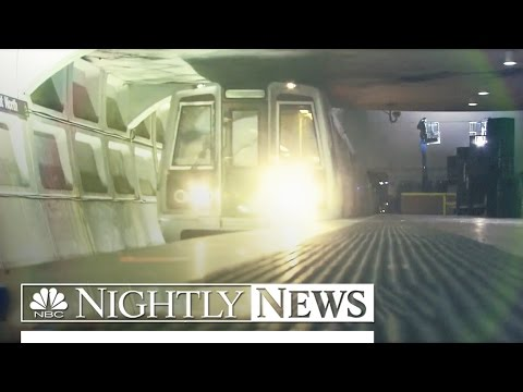 Entire DC Metro System Shut Down For Emergency Inspections | NBC Nightly News