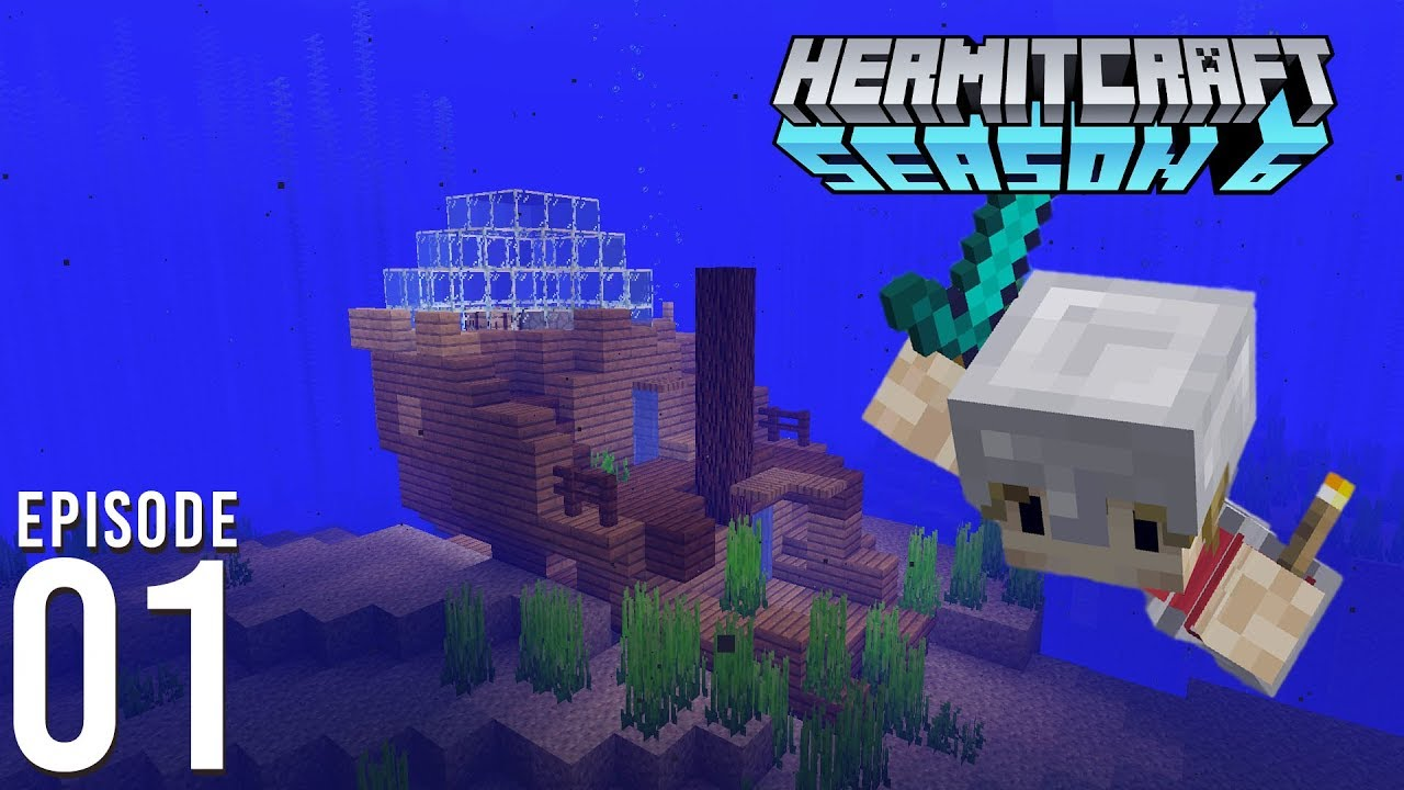 Hermitcraft 6: Episode 1 - I JOINED HERMITCRAFT.
