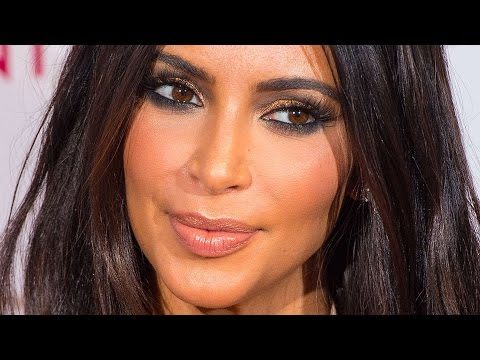 Kim Kardashian Makeup Tutorial Sexy Smokey Eyes Youtube