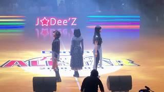 J☆Dee'Z (ジェイディーズ) Jewel 初披露 大田区総合体育館  2018.12.29 Wリーグオールスター2018 ハーフタイムショー