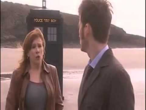 DELETED SCENE  The Doctor gives Meta Crisis a piece of the Tardis