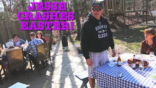 JESSE CRASHES EASTER!