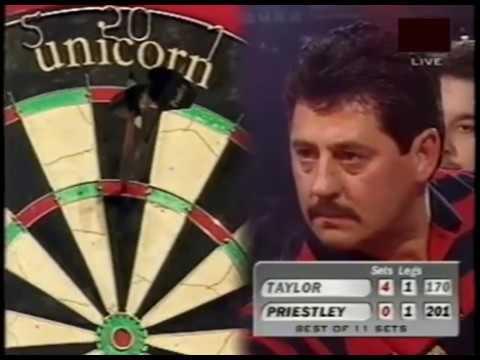 Phil Taylor vs. Dennis Priestley (Last 3 Sets) - 1998 PDC World Championship FINAL