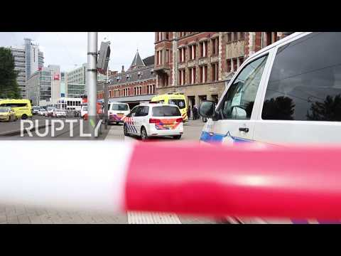 Netherlands: Two Injured In Amsterdam Central Station Stabbing, Suspect Shot By Police