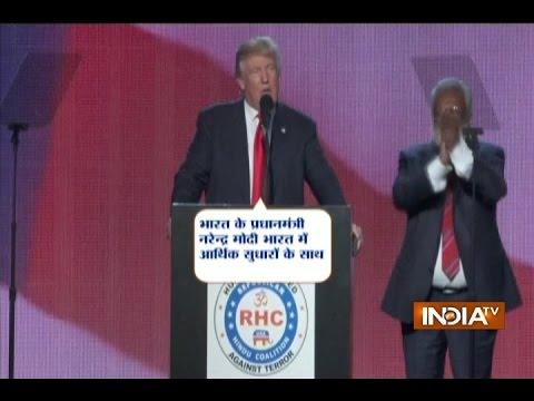 American President candidate Donald Trump praises PM Modi, calls him a 'great man'