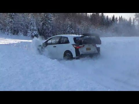 Ott Tänak Toyota Yaris Wrc pretest Swedish rally
