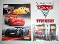 Disney Pixar Cars 3 Sticker Album & Sticker Packs Opening | Birdpoo Reviews