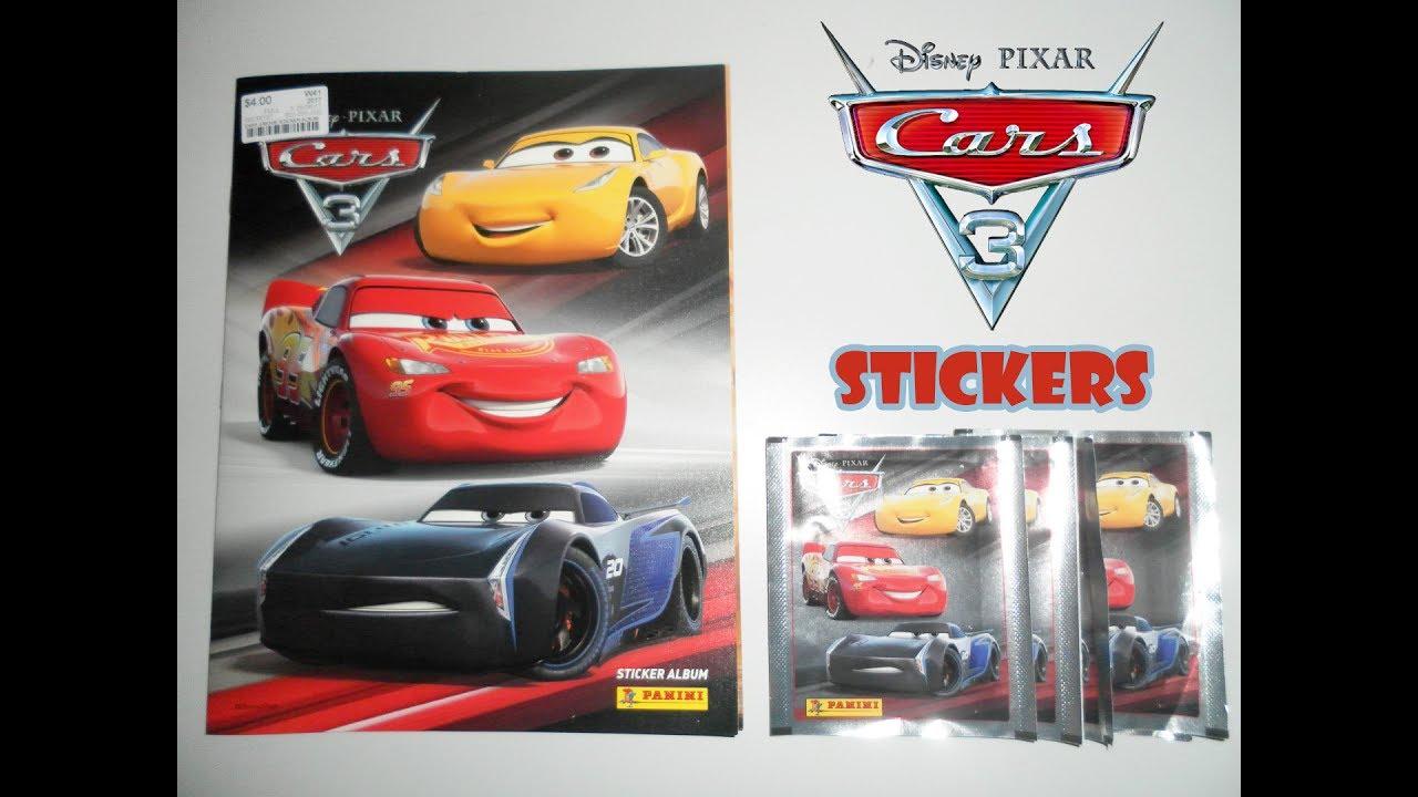 Panini Cars  Stickers