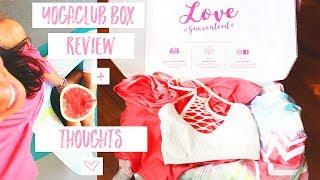 YogaClub Box // Review + Thoughts