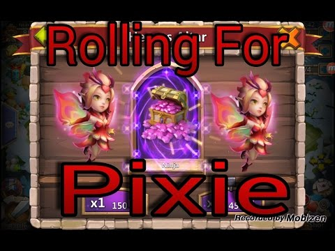 Castle Clash New Update And Rolling For Pixie