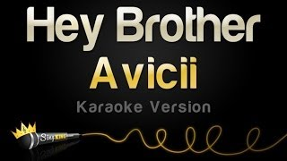 Avicii - Hey Brother (Karaoke Version)