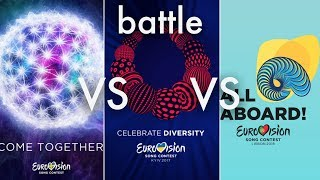 Eurovision 2016 Vs 2017 Vs 2018  (Song battle)