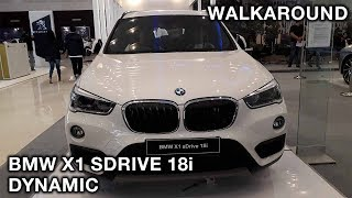 BMW X1 sDrive18i Dynamic LCI 2018 - Exterior & Interior Walkaround   #GIIASSurabaya2018