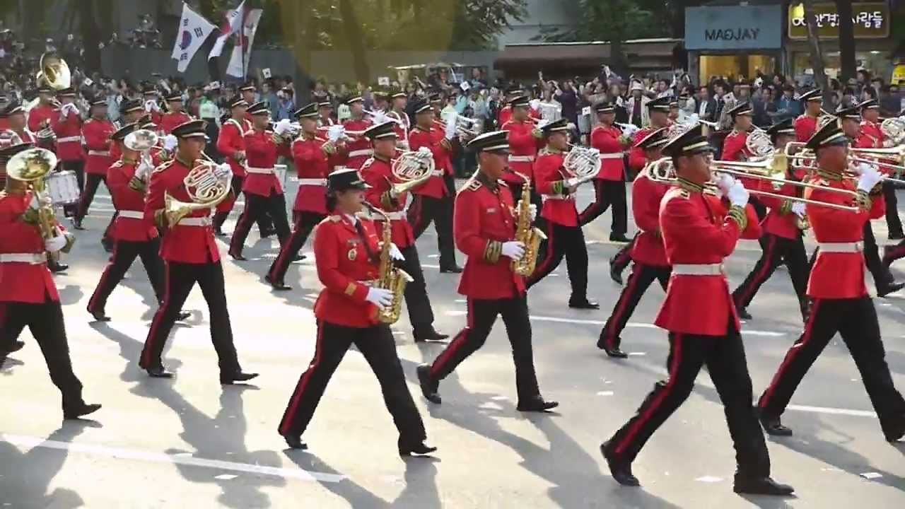 2013 (The 65th Anniversary) Great Korea Military Academy Cadets ...