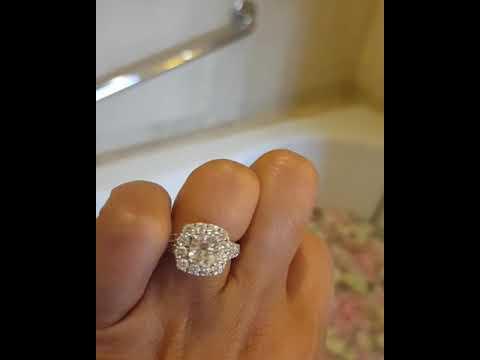 2 3 4 Ct Tw Neil Lane Diamond Engagement Ring 2 3 4 Carat Youtube