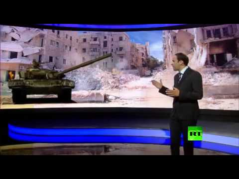 Russia Today TV (RTTV) Uses VTRON Rear Projection Video Wall