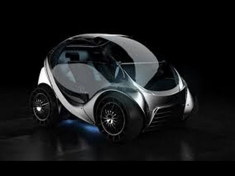 ▶ Hiriko folding electric car  hd