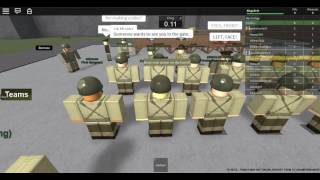Roblox Camp Bristol, 1942 My first promotion