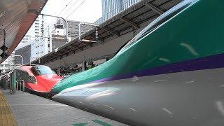東北・北海道新幹線 H5系 はやぶさ10号 車窓5 大宮~東京 Scenery from a Shinkansen window thumbnail