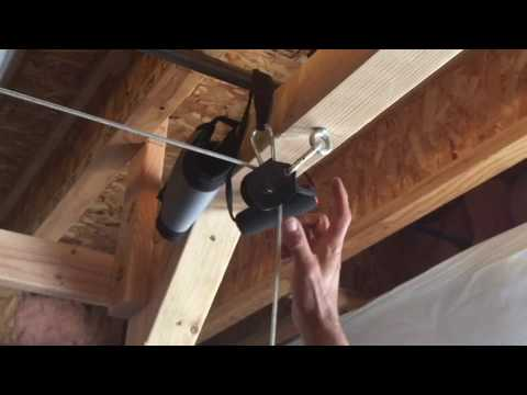 Diy Power Rack Cable Pulley System Youtube