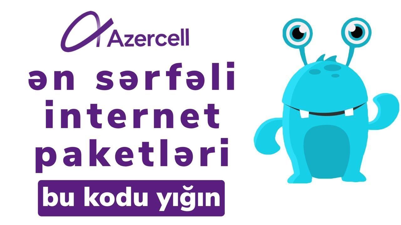 Azercell En Serfeli Internet Paketi Ozunet Youtube