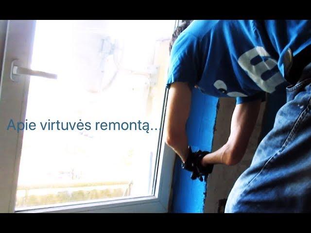 #NewKitchen 8 - Kaip vyksta mūsų remonto darbai / Vegan Pipiras