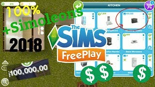 Sims Freeplay CHEAT 2018 - 100% WORKS - hack for +simoleons (IOS/ANDROID) (no modes/jailbreak)