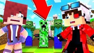 МЫ С МОЕЙ ЛЮБИМОЙ ЛИНОЙ05 УНИЖАЕМ РАНДОМОВ НА ХАЙПИКСЕЛЕ! | Minecraft Tower Defence