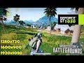 GT 1030 | PUBG Sanhok map Test! - 1080p, 900p, 720p