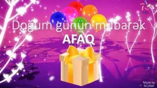 Doğum günü videosu - AFAQ