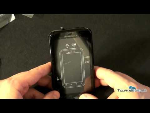 Motorola Defy Unboxing