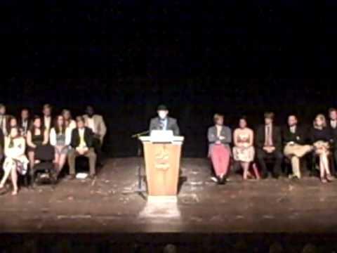 Honor Council Chair Speech - Davidson College, Aug 2009